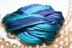 shibori ribbon seta shibori ribbon purple borealis 10cm
