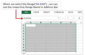 names in excel vba explained with examples