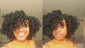 ththermal rods hairstyle flexi rod set horse shoe method step by step youtube