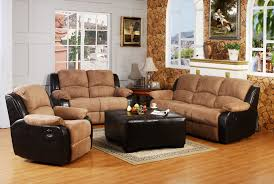 Microfiber Sofa And Loveseat Luna Mineral Microfiber Sofa And Loveseat Set 6565 Living Room 29
