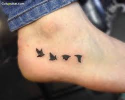 feather ankle tattoo 65 bird ankle tattoos ideas
