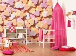 bedroom girls design with white canopy bed pink and crib fuchsia