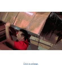 barrier reflective air attic ladder insulation kit