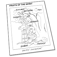 bunch ideas of coloring pages on fruits of the spirit with