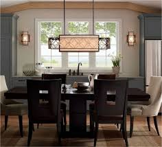 Casual Dining Room Chandeliers Casual Dining Room Lighting Round Gold Elegant Copper Table
