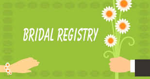 bridal registry four important when a bridal registry iwedplanner
