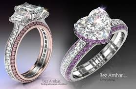 white gold and purple wedding difference between platinum and white gold