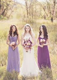 Lilac Dresses For Weddings Lilac And Peach Hues You U0027ll Heart The Perfect Palette