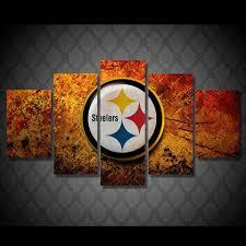 Vintage Flag Art Lovely Steelers Wall Art 51 For Vintage American Flag Wall Art