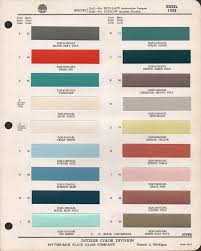 code r dqe 7079dal paint chips 1958 edsel looks similar to