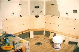 Preparing Walls For Tiling In Bathroom How To Put Tile On The Wall How To Install Bathroom Wall Tile Home