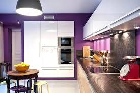 cuisine mur aubergine cuisine blanche mur aubergine cuisine blanche mur aubergine 4