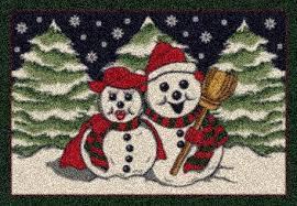 holiday snowflake rug u2013 my designer rug