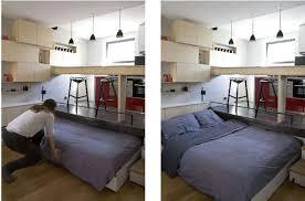 canapé lit pour studio 16m de studio optimisés archiboom l architecture et le design