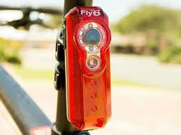fly bike light camera fly6 bike tail light and hd camera records your rear view for safety