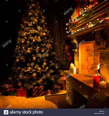 fireplace christmas stock photos u0026 fireplace christmas stock