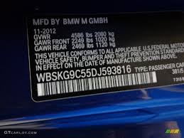 2013 m3 color code 381 for le mans blue metallic photo 78401132