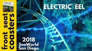 San Diego Six Flags Seaworld San Diego Announces Electric Eel New Roller Coaster