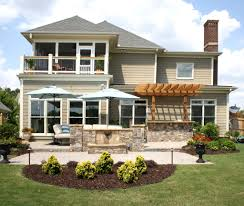 exterior delightful home exterior design with outdoor room