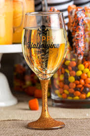 Wine Glass Gifts Happy Hallowine Wine Glass Halloween U0026 Harvest Francesca U0027s