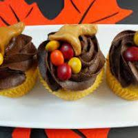 cupcakes decorated for thanksgiving divascuisine
