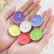 small tea light candles birthday romantic smokeless candle incense tealight small candle