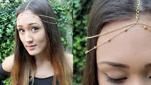 chain headpiece diy chain headchain