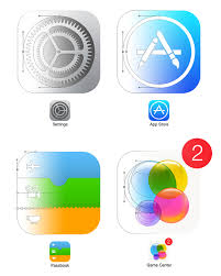 home screen icon design ios 7 home screen with 100 shape layers free psd on behance