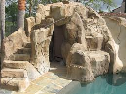 Fake Rocks For Landscaping by Faux Rock Caves Fake Cave For Backyard Landscapes