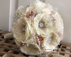 Shabby Chic Bridal Bouquet by Shabby Chic Bouquet Etsy