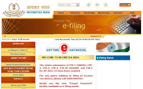 income tax for individual in india file income tax