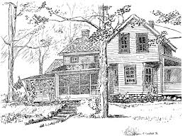 house drawing great drawing house architecture nice