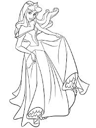 aurora disney princess coloring pages free printable aurora