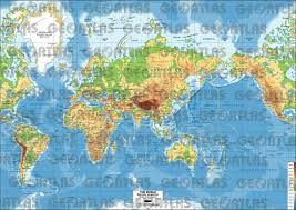 Map Projection Geoatlas World Maps Mercator Projection Map City Illustrator