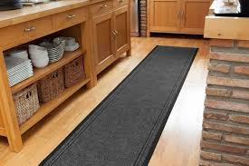 kitchen rug runners any length available dirt stopper grey runner