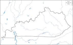Map Of Us Labeled Kentucky Base Map Maps Of Usa