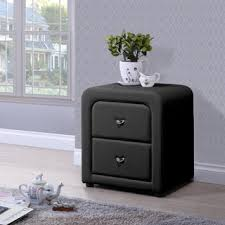 faux leather nightstands u0026 bedside tables shop the best deals