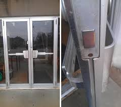 Glass Door Weatherstripping by Weather Seal For Metal Double Doors Swisco Com