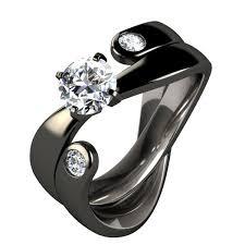 black titanium wedding bands mesmerizing black titanium engagement rings for women 71 on