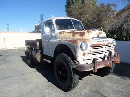 Dodge Pickup Cummins Diesel - 1949 dodge truck cummins diesel power 4x4 rat rod tow truck no reserve