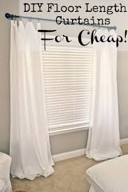 Textured Cotton Tie Top Drape by 25 Unique Flat Sheet Curtains Ideas On Pinterest Sheets To