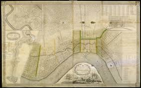 Map New Orleans The Collins C Diboll Vieux Carré Survey Maps Page