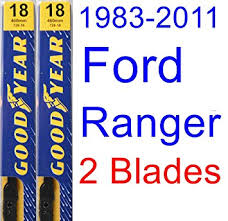 ford ranger wiper blades amazon com 1983 2011 ford ranger replacement wiper blade set kit