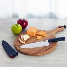 farberware kitchen knives amazon com farberware chef knife with edgekeeper self sharpening