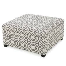 brayden studio trudel fabric storage ottoman u0026 reviews wayfair