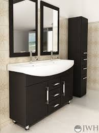 48 celine double sink modern bathroom vanity furniture cabinet