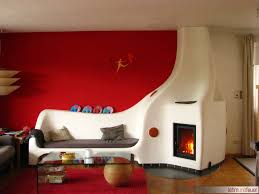 Wohnzimmer Modern Mit Ofen Gemauerter Lehmofen U2013 Handwerklicher Speicherofen Lehm Und Feuer