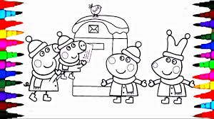 peppa pig coloring book pages kids fun art activities videos for