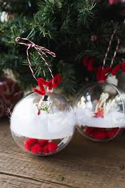 and easy diy snow globe ornament favecrafts