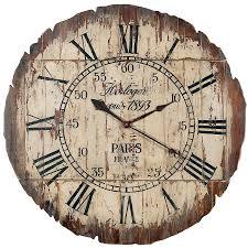 horloge murale engrenage horloge en bois horloge bois horloge et bois